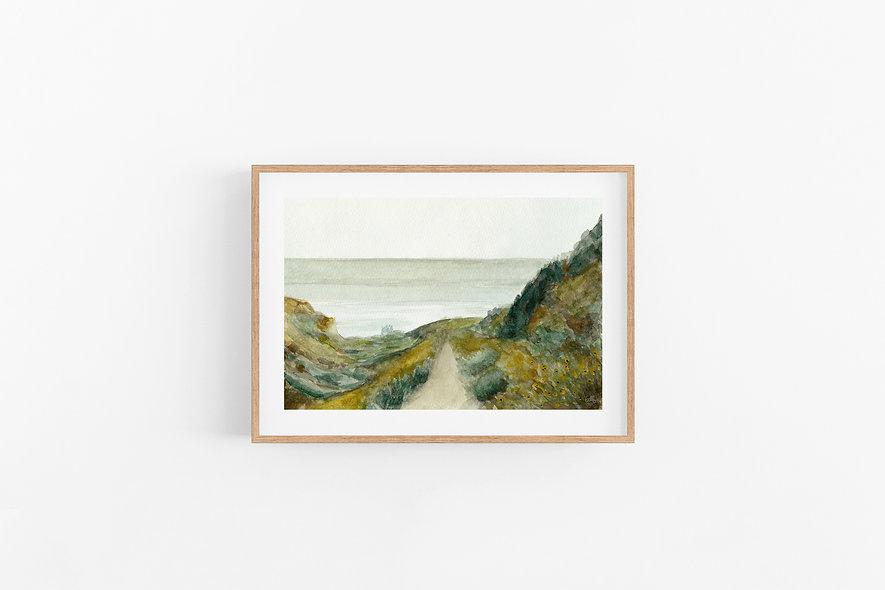 See Beyond - No.2     A Horizontal Print