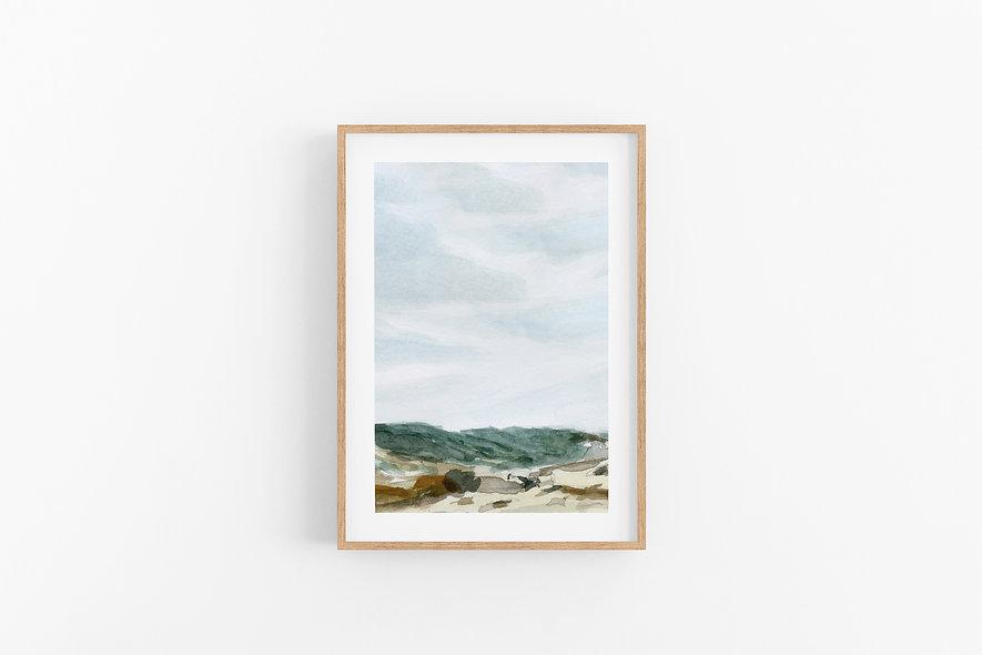 Renewal - No.1 |  A Vertical Print