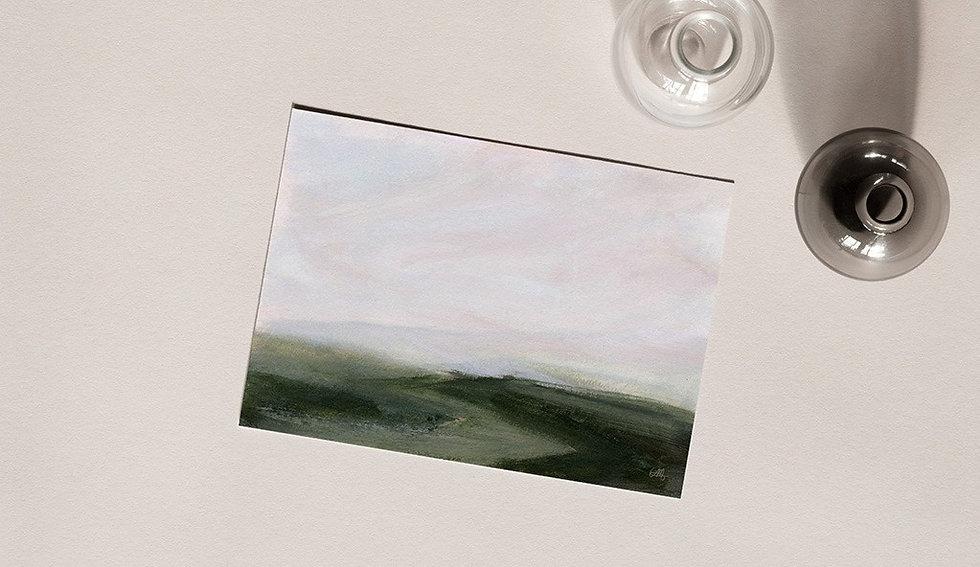 """Passing Through"" Horizontal Landscape"