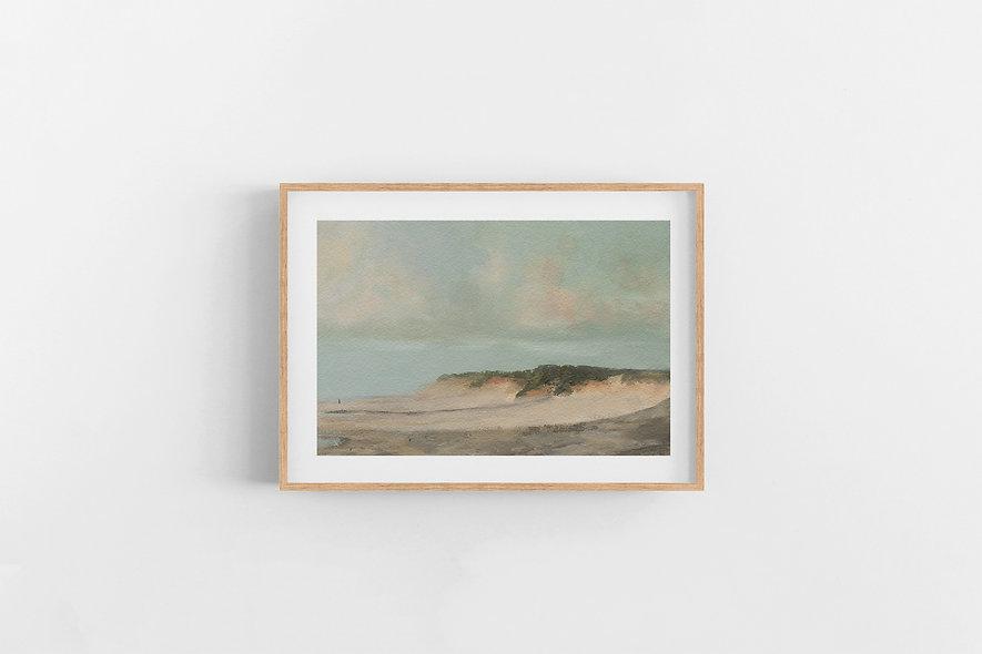 """13 / 18     """"Walk on the Sand"""" Landscape Original"""