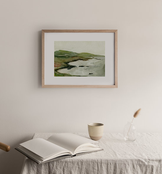 See Beyond- No.4    A Horizontal Print