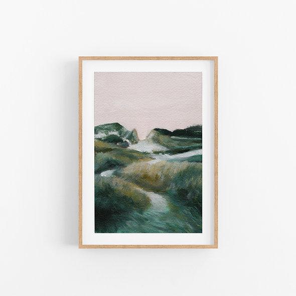 The Hills We Climb   A Vertical Print