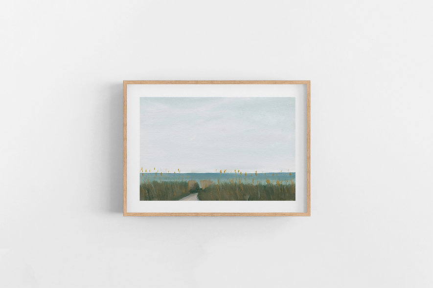 "9 / 18     ""Winters in Florida"" Landscape Original"