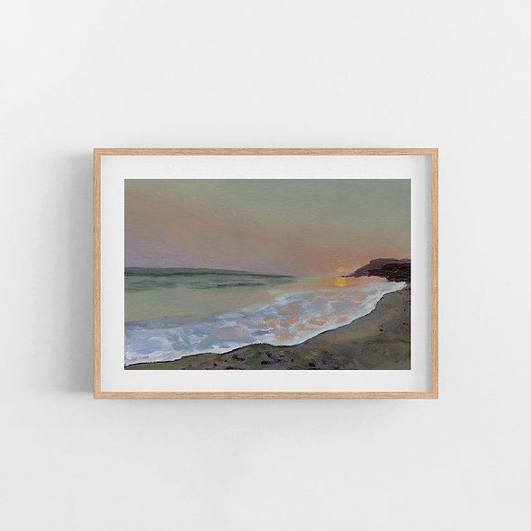 Anchor Me Here | A Horizontal Print