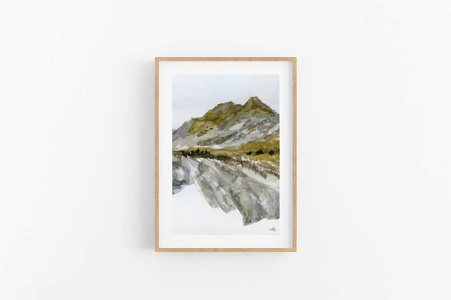 Grounded Resilience - No.1  |  A Vertical Print