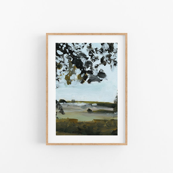 Among Trees | A Vertical Print