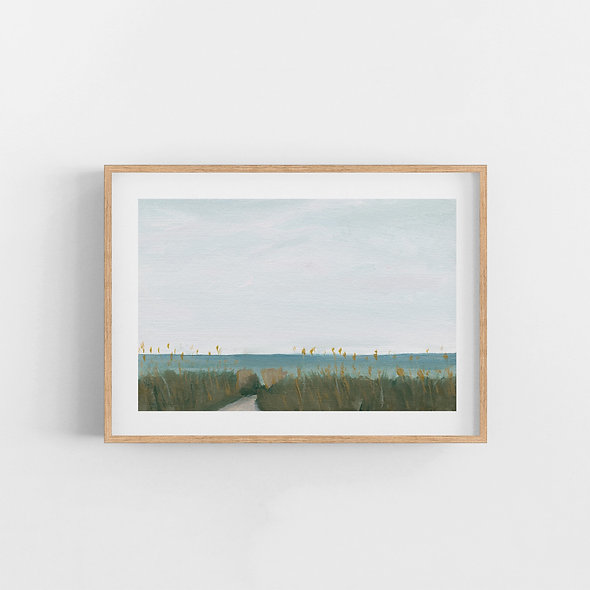 Winters in Florida | A Horizontal Print