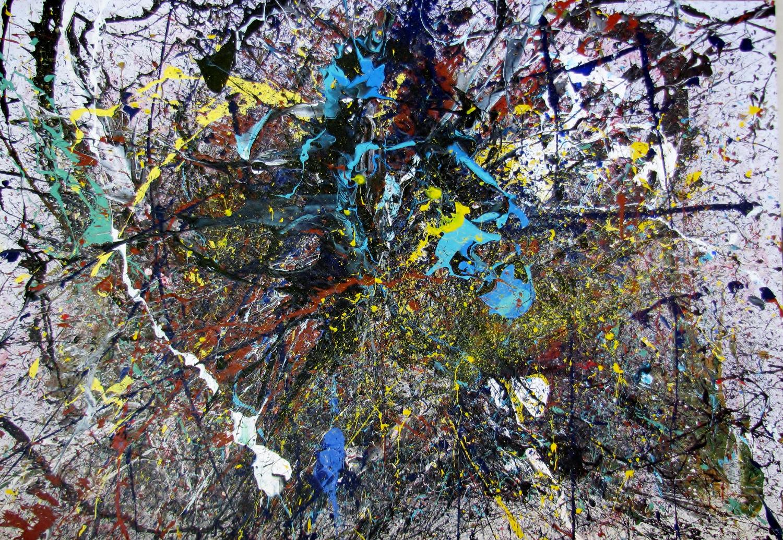 Dripping Malerei