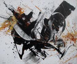 """Abstrakte-Malerei """"Expressiv und lei"""