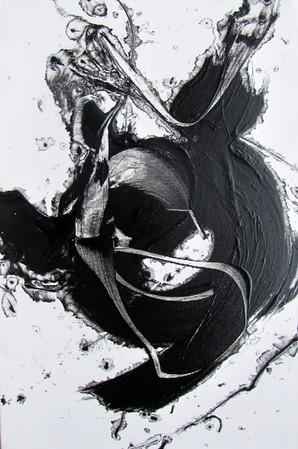 Abstrakt - Expressiv - Schwarz