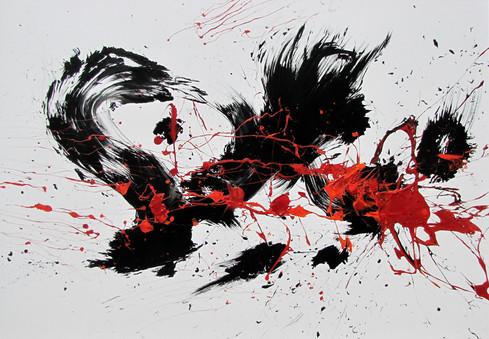 Farb und Energie Explosion