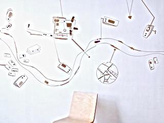 Pelle Conductivo wall installation