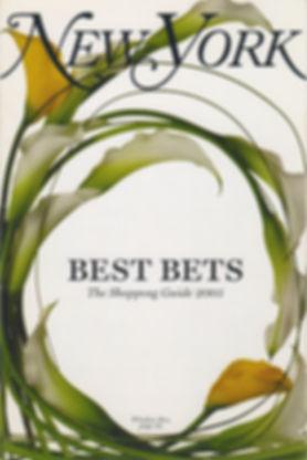 Best Bets-NY Magazine 2005