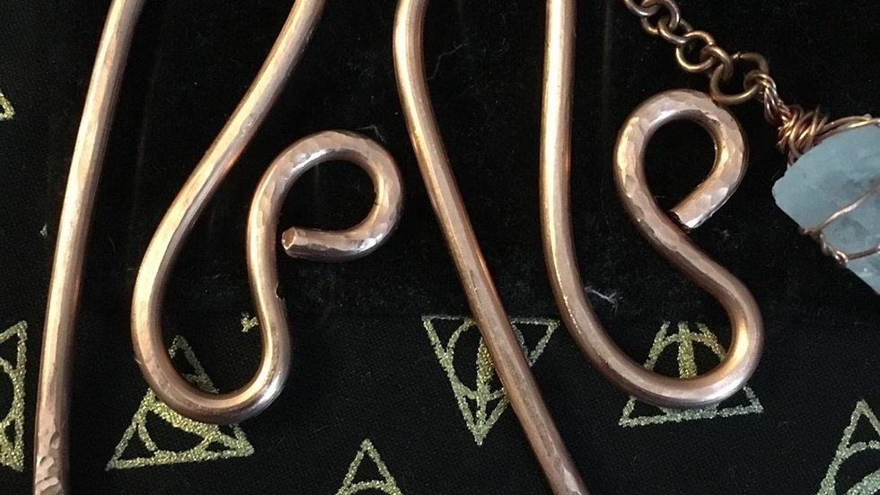 Copper Hanger Set
