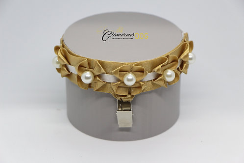 Gold with pearls