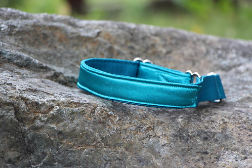 Small blue & green collar