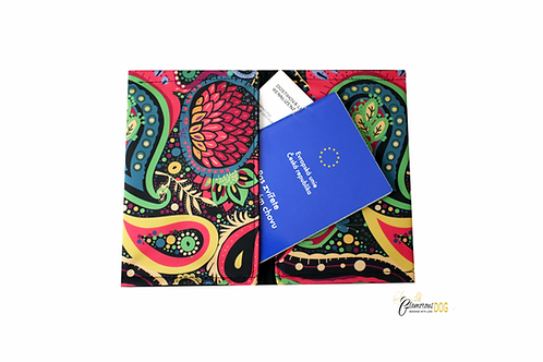 Document case - softshell - oriental pattern PAISLEY