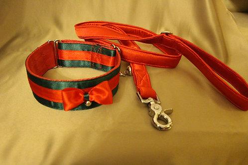 Christmas collar - green