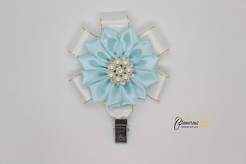 Deluxe dog show clip - light blue 3