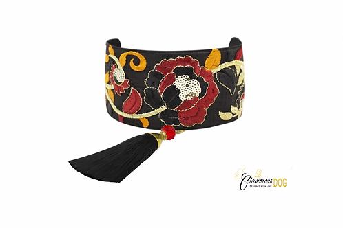 Rome collar with tassel