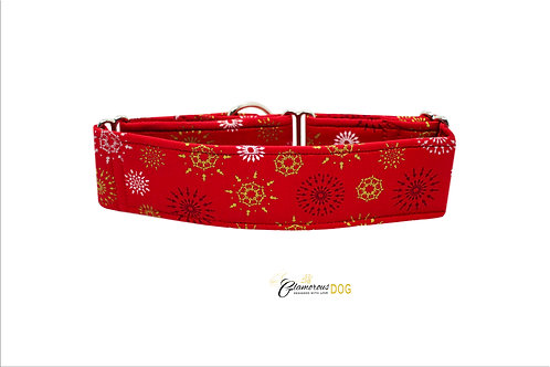 Adjustable collar red