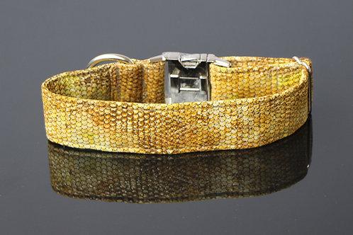Snake collar - gold 4cm