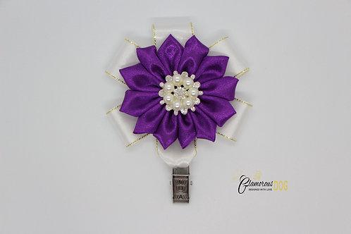 Deluxe dog show clip - purple 3