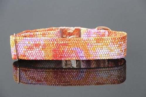 Snake collar - red 4cm