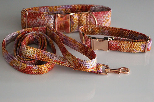 Snake collar - red 2,5cm