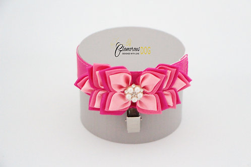 Lavender pink, french pink & deep pink