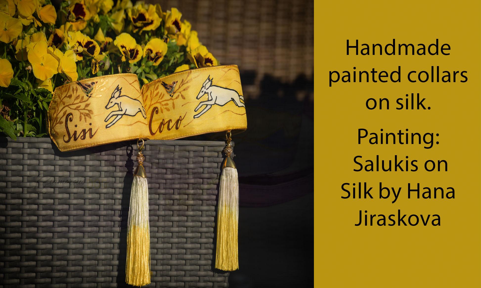 collar on silk_yellow