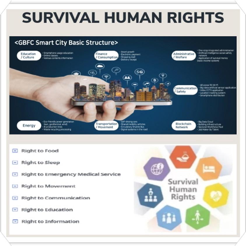 Traitement de masse COVID-19 et survie des droits de l'homme