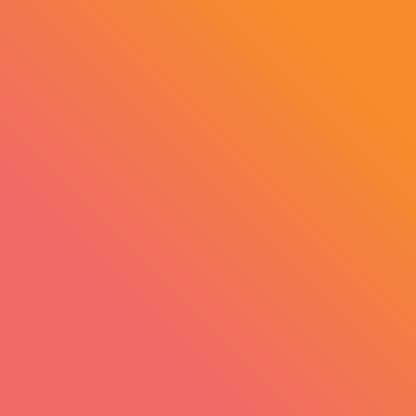 Fresh Produce Branding orange gradient strip