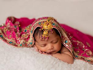 Beautiful Zaynah at 14 days