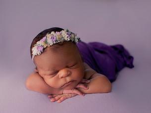 amazing newborn session with Beautiful Halani
