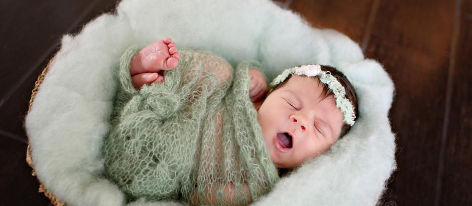 Snuggly sweet {orlando newborn photographer}