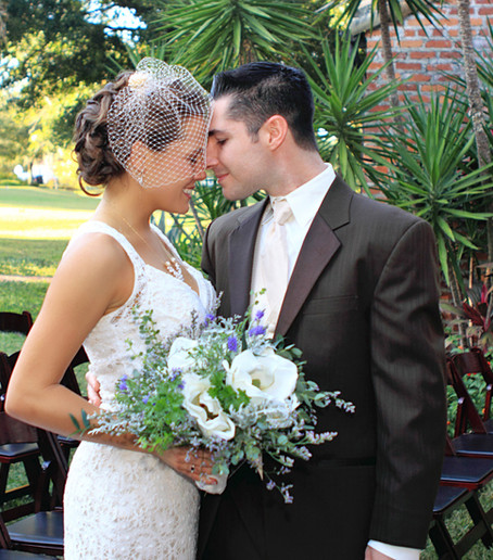 Style Me Pretty Feature Ashleigh & Dan Casa Feliz Wedding winter park florida