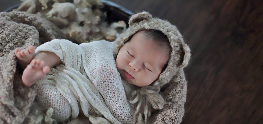 winter park newborn photographer