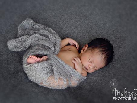 Chase / orlando newborn photographer melissa t