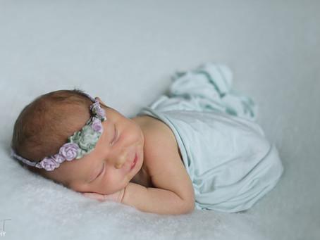 orlando newborn photographer | Ava girl