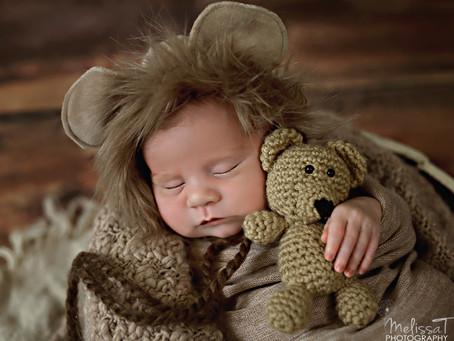 Perfect Parker   orlando newborn photographer