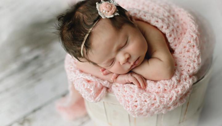 Pretty in Pink/ Orlando newborn photographer