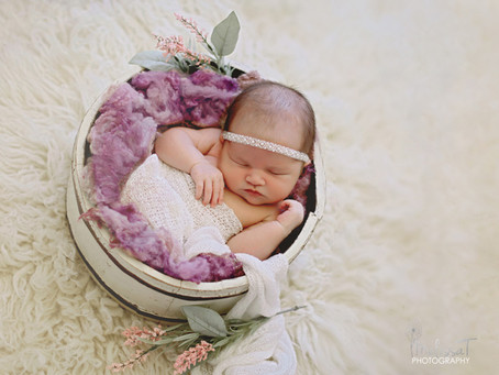 Selena {8 days new} | orlando newborn phoographer