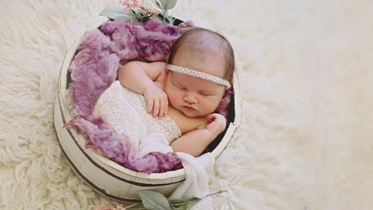 Selena {8 days new} | orlando newborn phoographer