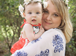 Phoebe is 6 months| Mommy and Me session