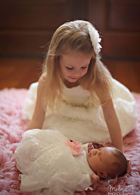 Sisters   Orlando newborn pictures