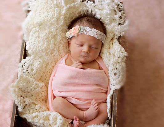 Beautiful Lucia { 8 days new} orlando newborn photographer