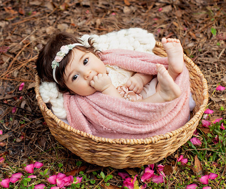 Beautiful Sophia at 4 months
