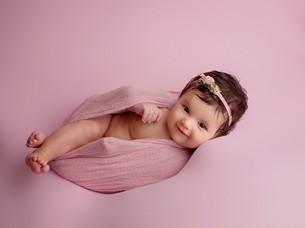 Baby Kaylee at 4 months