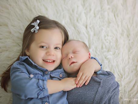 siblings| orlando newborn photographer